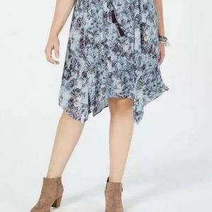 Style & Co Dresses - ⭐️ Style & Co Plus Size Printed A-Line Dress 1X.